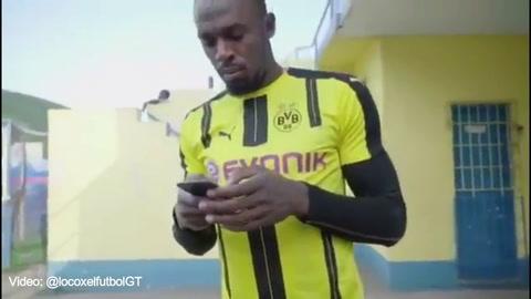 Usain Bolt se entrenará el viernes con el Borussia Dortmund