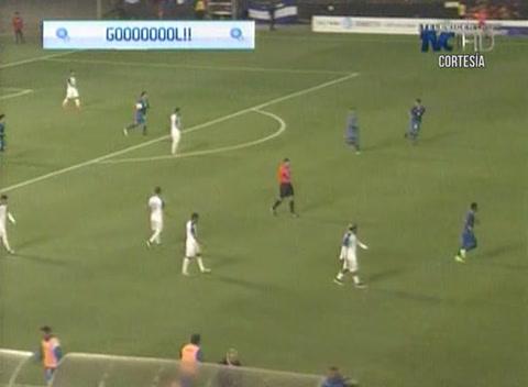 Gol de El Salvador a Honduras (Amistosos Internacionales)