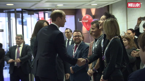 The Duke and Duchess of Cambridge make charity visit to ICAP