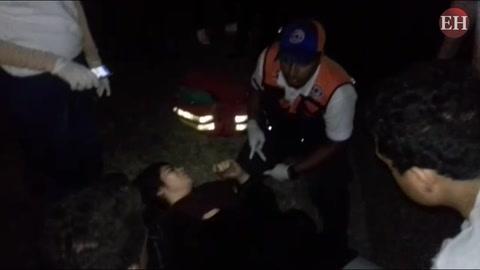 Brutal accidente deja cuatro heridos en el anillo periférico