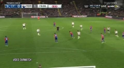 Crystal Palace 0-1 Tottenham (Liga Inglesa)