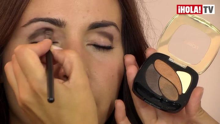 Maquillaje paso a paso: Ojos ahumados para una noche otoñal