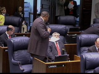Barron on Senate Floor