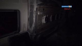 Yolcu otobüsü şarampole devrildi: 21 yaralı