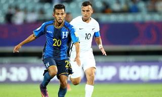 Honduras cae 3-1 ante Nueva Zelanda en el Mundial Sub-20