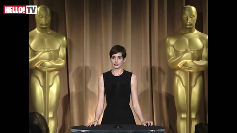 Anne Hathaway on the best and worst thing about the awards season