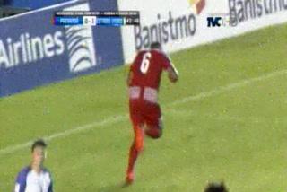 Gol de Panamá, Gómez empató el juego ante Estados Unidos