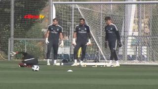 Courtois no fue inscrito por el Real Madrid para la Supercopa de Europa y Keylor Navas será titular