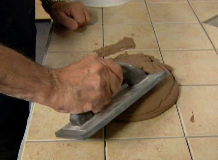 How To Apply Tile Grouttips From A Master Tile Setter Diy