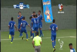El Salvador anota el 1-0 ante Honduras en los Juegos Centroamericanos