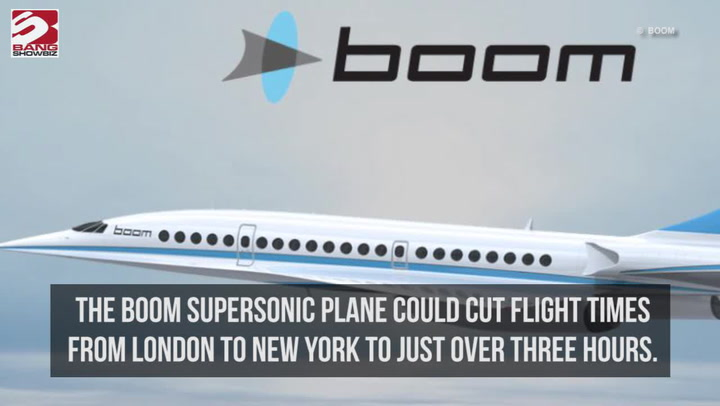 Boom Supersonic Plane Cuts Journey Time Down