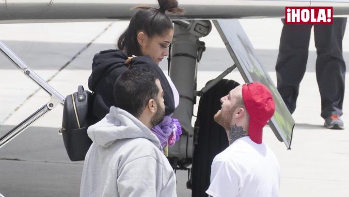 En vídeo: Ariana Grande vuelve a casa y se refugia en los suyos
