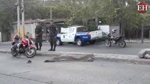 Mujer muere en accidente de tránsito en la capital de Honduras