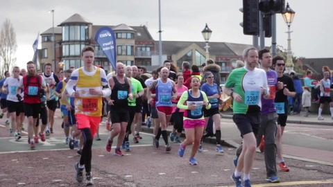 Video: Belfast Marathon