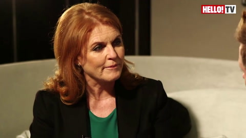 Sarah, Duchess of York, speaks exclusively to HELLO! Part 2