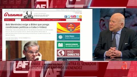 Régimen cubano arremete contra el congresista Bob Menéndez y el politólogo Frank Calzón