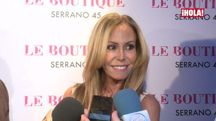 Lara Dibildos cuenta cómo es su relación con Anna Barrachina, hija de Álvaro Muñoz Escassi
