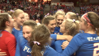 Plains Vs. Galena 2A State Volleyball Final