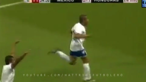 Los  goles de Honduras ante México en la Copa Oro