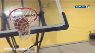 5 Yaşındaki Küçük Çocuktan Basketbol Şov