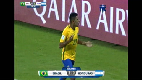 Honduras Sub-17 quedó eliminada del Mundial de India 2017 al perder 3-0 contra Brasil