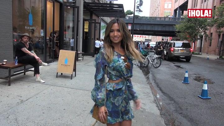 Las calles de Nueva York, pasarela del \'street style\' en la Semana de la Moda