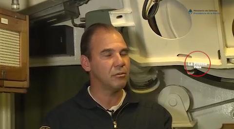 Así es el submarino argentino desaparecido