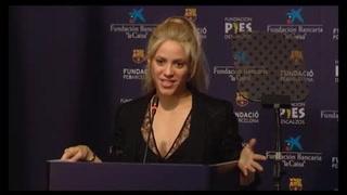 Invertir en educación es mejor que ganar un Grammy: Shakira