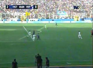 ¡GOOOL DE MOTAGUA! Al 48 Andino marca doblete y pone las cosas 2-0 ante Honduras Progreso. Global: 6-1