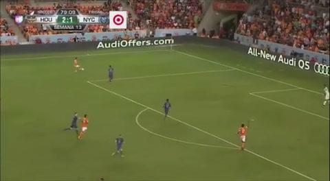 Gol de Alberth Elis al New Yort City (MLS)
