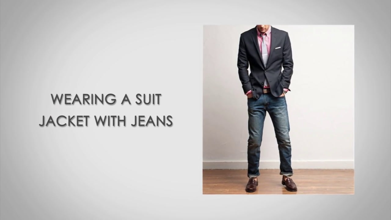 5 Rules on Wearing A Suit Jacket with Jeans | Pairing Denim And ...