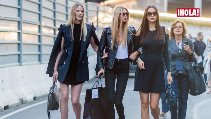 Modelos 'off duty': ¡Consigue el look'!