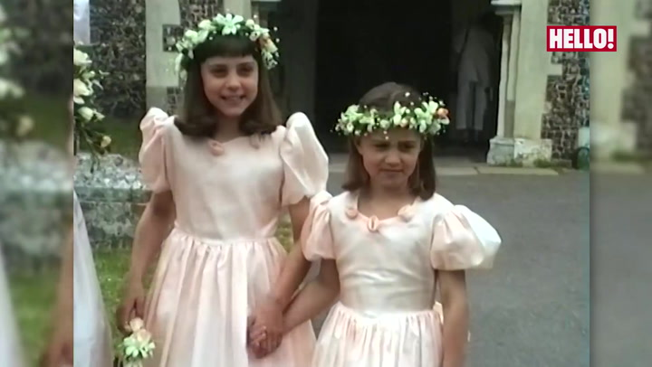 Kate and Pippa as bridesmaids 1.mp4
