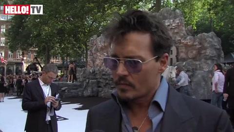 Johnny Depp speaks about new filmThe Lone Ranger