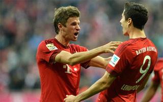 Vapuleada del Bayer de Múnich  5-0  ante Besiktas por los octavos de final de la UEFA Champions League