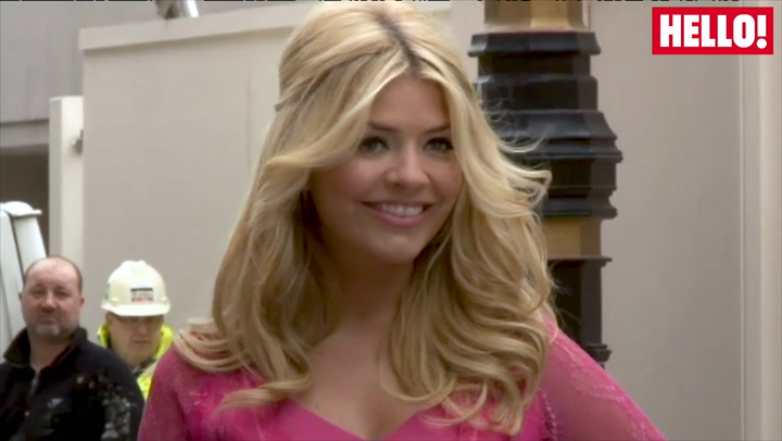 Holly Willoughby in profile