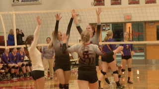 Taylorville Vs. Mt. Zion Volleyball Effingham Sectional
