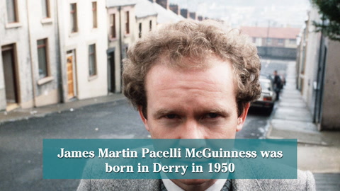 Video: Martin McGuinness' journey from IRA commander to statesman