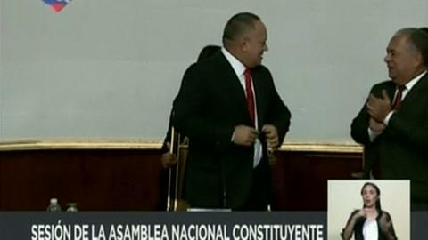 Poderoso chavista Cabello presidirá Constituyente en Venezuela