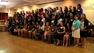 Spring 2012 Garnet & Gold Scholars Society welcomes new inductees