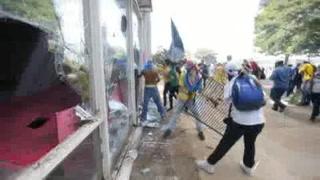 Fuertes disturbios se desatan en protestas contra Temer