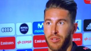 Sergio Ramos: ''No sorprende que no nos piten penales y al Barcelona sí''