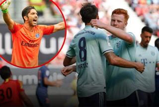 El Bayern Múnich derrota al PSG en el debut de Buffon
