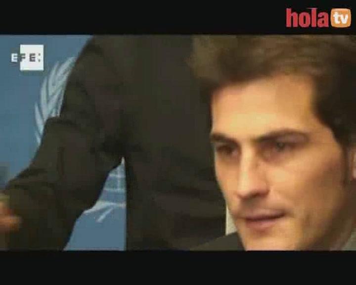 Casillas apoya a la ONU en la lucha contra la pobreza