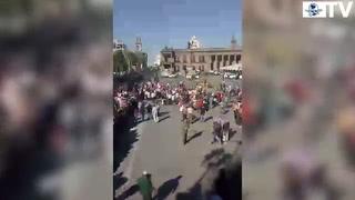 Marchan en NL, Sinaloa y Sonora contra el gasolinazo