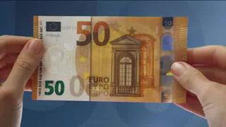 Nuevo billete de 50 euros entra en circulación