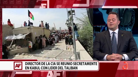 Los detalles de la reunión entre el jefe d al CIA y los talibanes en Kabul