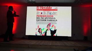 Muestran supuestas pruebas de fraude electoral en Honduras