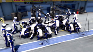 Los boxes en la Fórmula 1