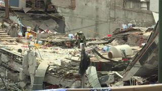 México Concentran Rescates De La Capital En Un Edificio